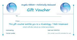Holistically Balanced Gift Vouchers