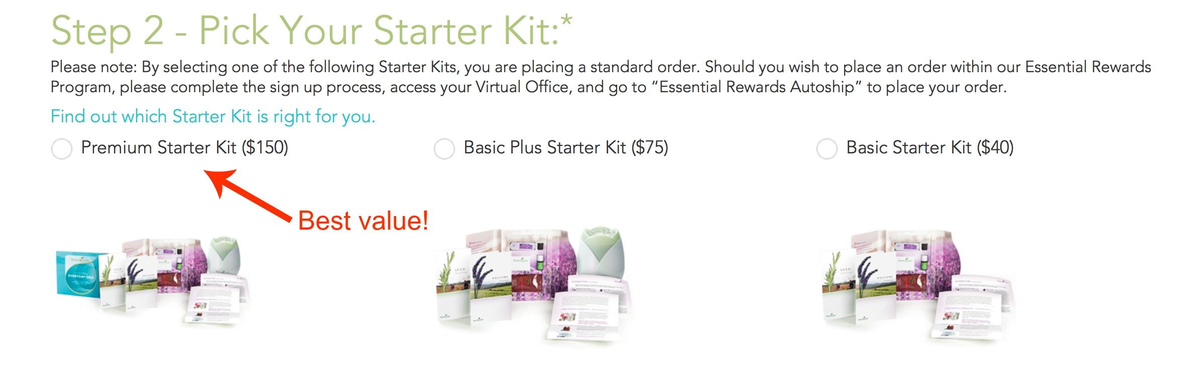 step 2 premium starter kit_