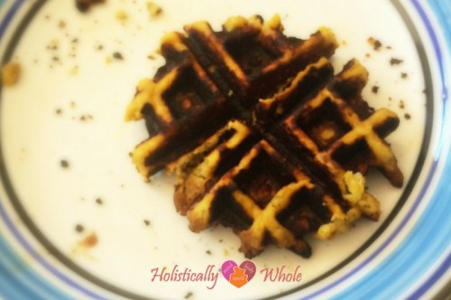 Waffle FAIL - just a little crispy