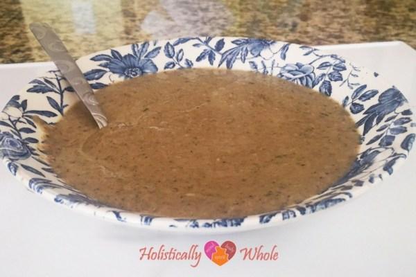 Bowl of Mushroom Bisque
