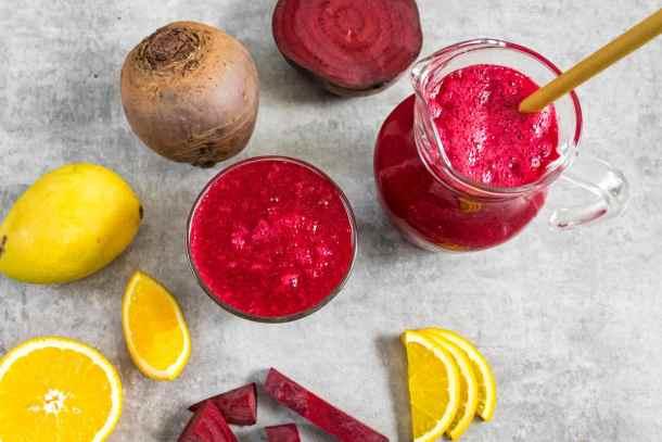 beetroot-mango-orange-juice-served