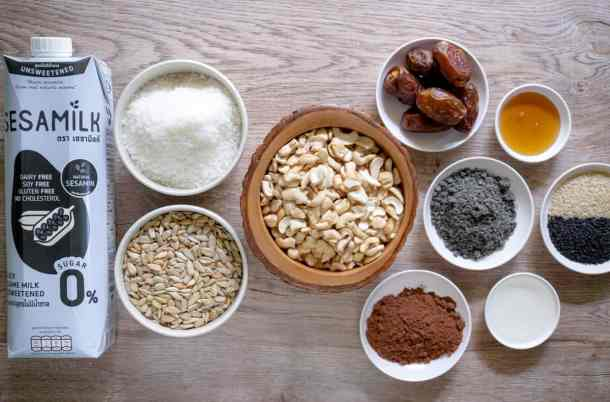 ingredients-for-chocolate-bliss-balls