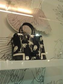 black & white Oroton bag