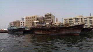 July: Boat ride in Dubai
