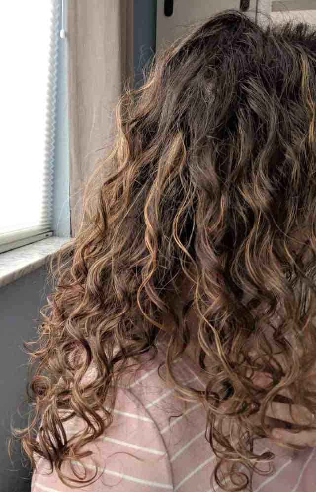 curly girl method for 2b 2c 3a hair - routine for fine curly