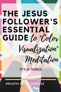 color visualization meditation
