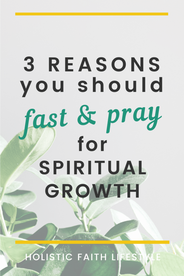 fasting for spiritual growth