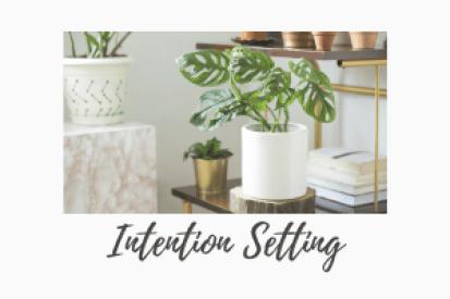 intention setting