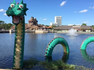 Lego Dragon at Disney Springs