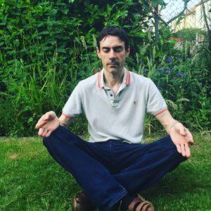 Gary meditates