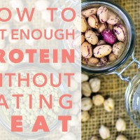 How to Get Enough Protein Without Eating Meat