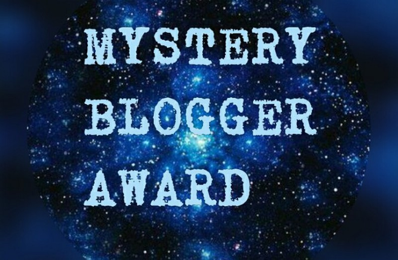 The Mystery Blogger Award 2018