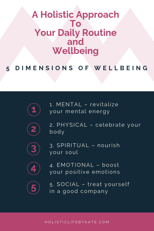 holistic approach to wellbeing
