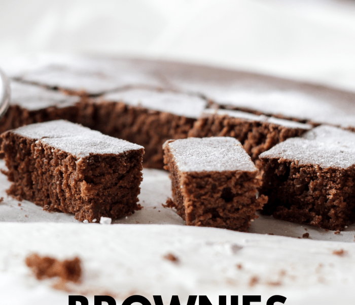 Healthy Greek Yogurt Brownie