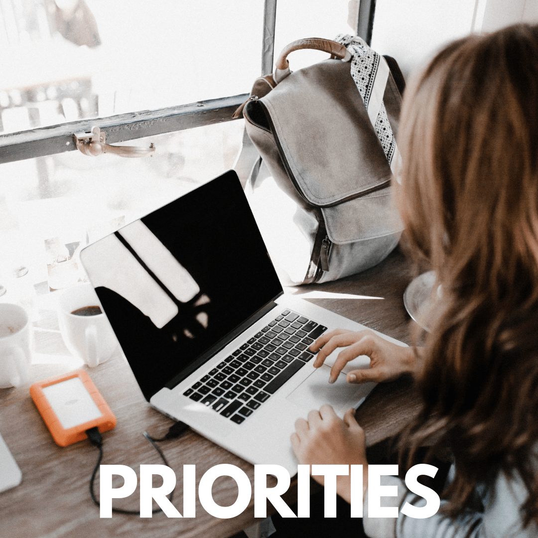 PRIORITIZE YOUR LIFE WORKBOOK
