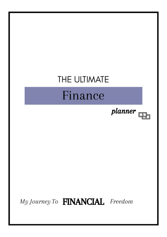 Financial Planner KIT