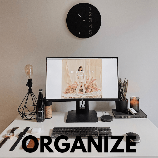 how to organize your lfie for 2021
