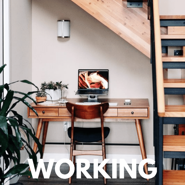staying productive working from home