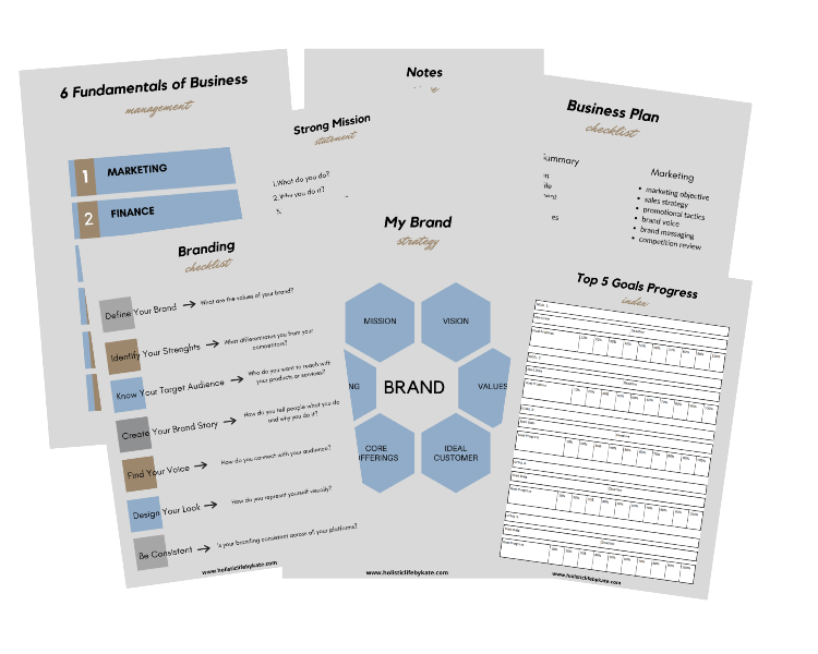 branding and business checklists
