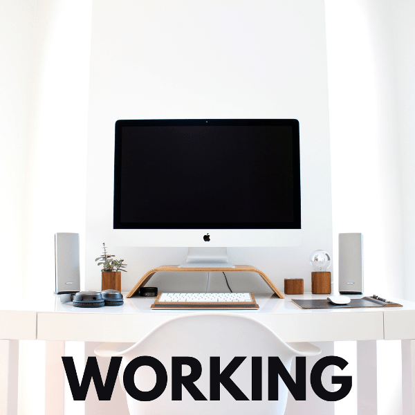 working from home habits
