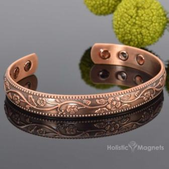 Ladies Magnetic Bracelet Arthritis Bracelet for Pain Magnetic Therapy Bangle Wristband