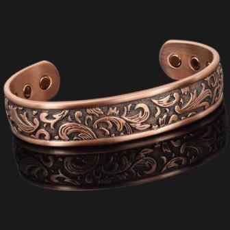 Ladies magnetic bracelet for health copper bracelet for arthritis pain relief therapy bracelet