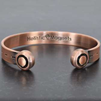 strong magnetic bracelet for health magnetic therapy copper bangle for arthritis pain relief magnetic wristband hgr