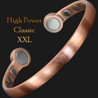 Magnetic bangle pain relief bracelet mens copper bracelet arthritis magnetic therapy health bracelet bracket STRONG magnets hpc XXL