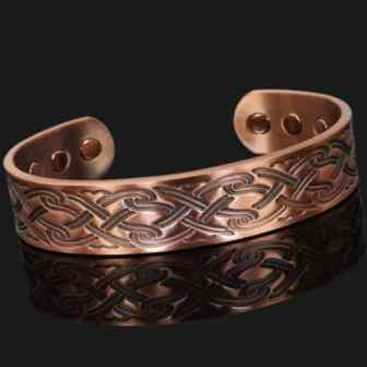 copper magnetic bracelet bangle magnetic therapy arthritis pain relief health bracelet cp
