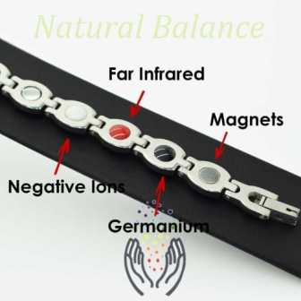 .magnetic bracelets for pain relief womens ladies health healing magnetic therapy ion energy wristband sgp