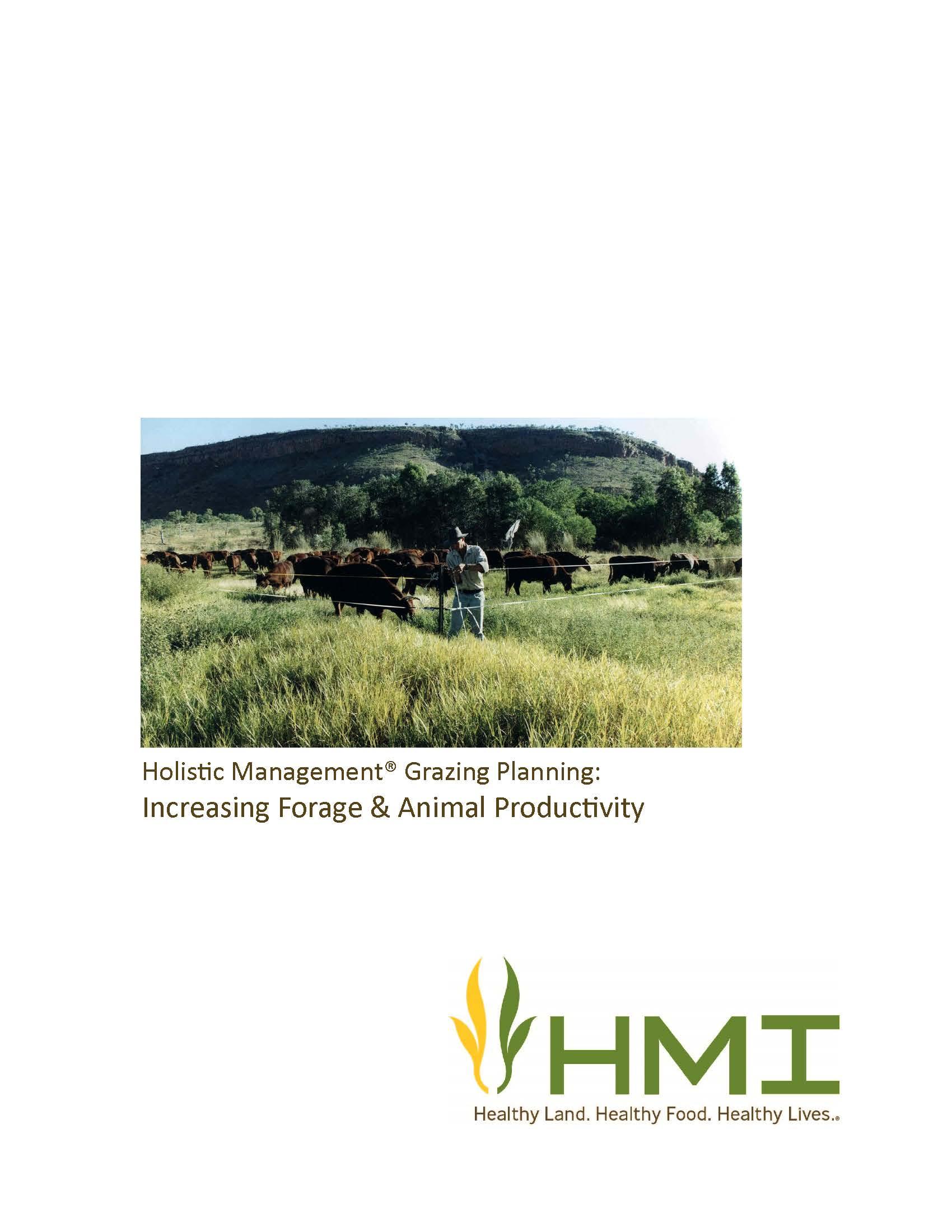 Holistic Management Grazing Planning Manual