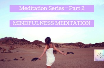 Meditation Series Part 2(2)