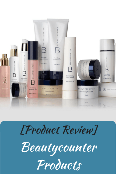 [Product Review] Beautycounter Products
