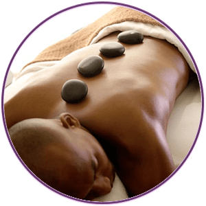 Massage Services - HOT STONE MASSAGE