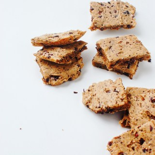 vegan and gluten free paleo blondies