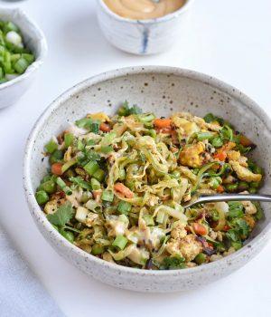Paleo Zucchini Noodle Stir Fry