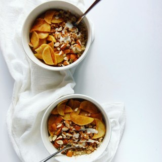 Spiced Quinoa Porridge