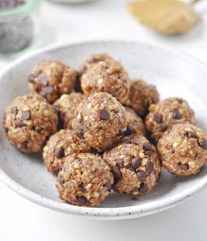 Sweet and Salty Chocolate Chip Energy Balls