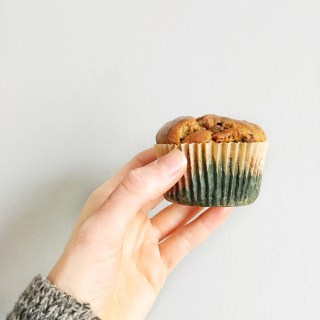 Keto and Paleo Pumpkin Chocolate Chip Muffins