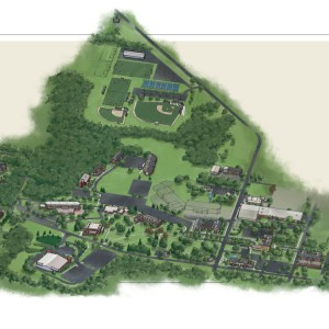 Campus Map for Private College