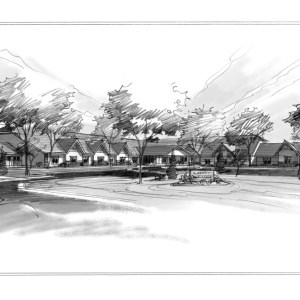 Rough Proposal Sketch for Assisted Living Facility