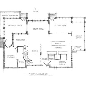 Stylized Sketch of Proposed Floor Plan