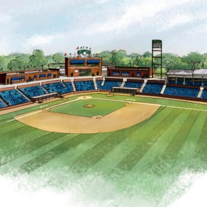 Finished Color Rendering for Proposed Stadium Investor Materials