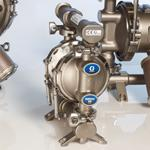 The Graco 515 Sanitary Double Diaphragm Pump