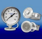 The Sanitary Gauge Guard Isolator and the Gauge Guard Protector Protect the Diaphragm from Damage