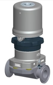 ITT Pure Flo Envizion Valve with a Pneumatic Actuator