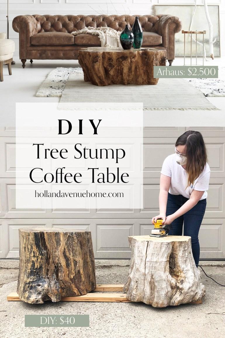 diy tree stump coffee table pinterest.jpg