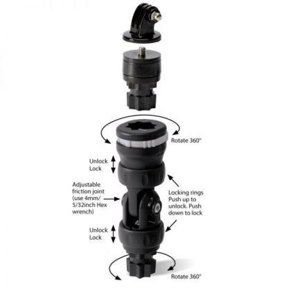 Hollandlures railblaza Camera-Mount-R-Lock 02-4130-11