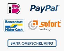 Veilig betalen met ideal of paypal
