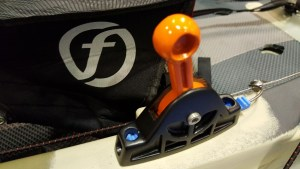 Feelfree Overdrive rudder system